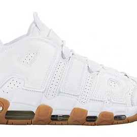 NIKE - NIKE AIR MORE UPTEMPO WHITE GUM