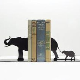 Knob Creek Metal Arts - Brontosaurus Bookends