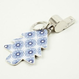 Carven - Royal Blue Whistle Key Ring