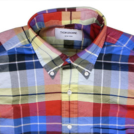 THOM BROWNE - Madras Shirt