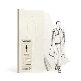 Fashionary - Sticky memo pad - mens figures -