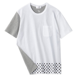 Aloye - Dots & Stripes #2 / Short-Sleeve Pocket T-Shirt