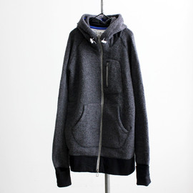 maillot - Full wool zip parka MAO-017