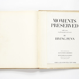 Irving Penn - Moments Preserved