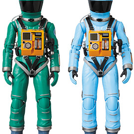 MEDICOM TOY - MAFEX SPACE SUIT GREEN Ver./LIGHT BLUE Ver.