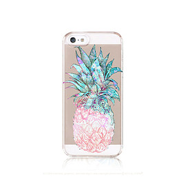casesbycsera - Pineapple iPhone 6 Case Clear iPhone 5 Case Clear Pineapple iPhone 5 Case iPhone 6 Case Pineapple