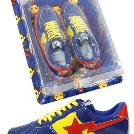 A BATHING APE - BAPESTA Superman