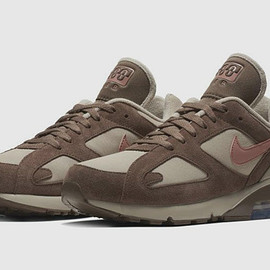 NIKE - Air Max 180 - String/Rust Pink/Baroque Brown