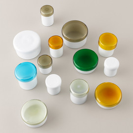 YALI MURANO GLASS DESIGN - Glass Jars with Lids