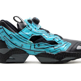 "Reebok - INSTA PUMP FURY ""CHINEMA PACK"" TRON"