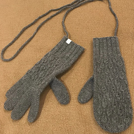 ANTIPAST - wool cashmere gloves