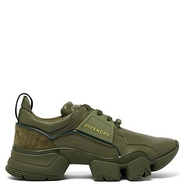 Givenchy - Jaw raised-sole low-top leather trainers