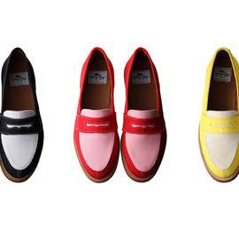 Good Guys - Bi-Color Canvas Loafers