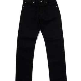 bal - C5 TAPERED JEAN PLEATED WASH