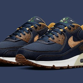 NIKE - Air Max 90 SE - Obsidian/Wheat/Coconut Milk/White