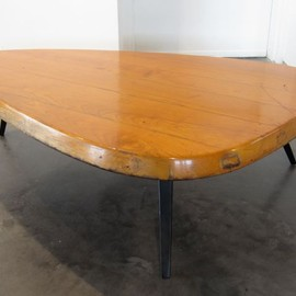 Charlotte Perriand & Jean Prouvé  - Free Form Coffee Table 1956