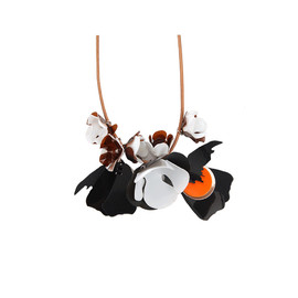 MARNI - Multi-Color Cluster Flower Necklace