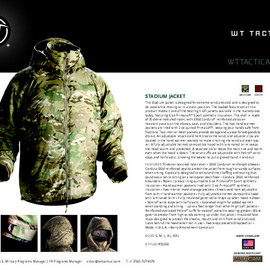 Wild Things Tactical - Transport Parka