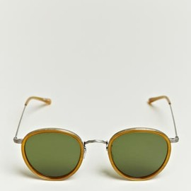 Oliver Peoples - Metal Patterned Rim Sunglasses