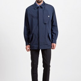 MARNI - Technical Mac Coat Navy