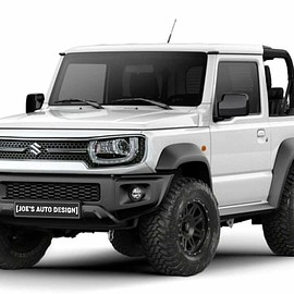 SUZUKI - Jimny modification by joe's auto design