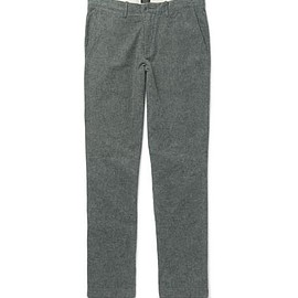J.Crew - Brushed Cotton-Twill Chinos