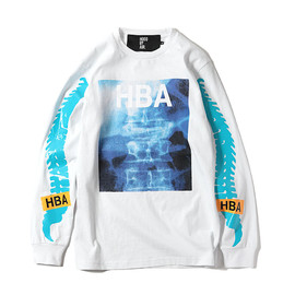 Hood by Air - BLUE X-RAY TEE