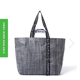 RAMIDUS - fragment design TOTE BAG(L)