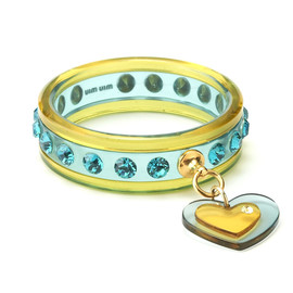 miu miu - Bracelet with Heart Motif