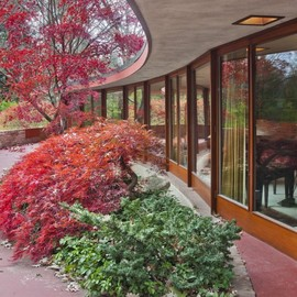 FRANK LLOYD WRIGHT - Kenneth Laurent House, Rockford