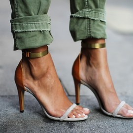 heels paired with cargo's
