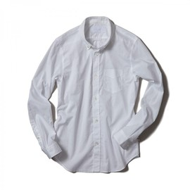HEAD PORTER PLUS - SIMPLICITY STANDARD SHIRT WHITE