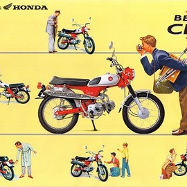 HONDA - CL50/BENLY