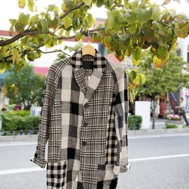 ouret - wool check jacket