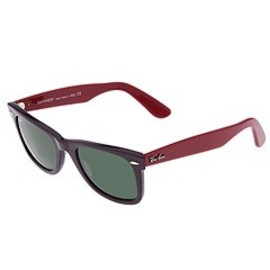 Ray ban - Ray-Ban 2140 Original Wayfarer (Purple/Cranberry/G-15XLT Lens) - Ray-Ban Sunglasses