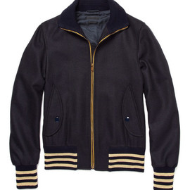 Alexander McQueen - Wool and Cashmere Bomber Jacket