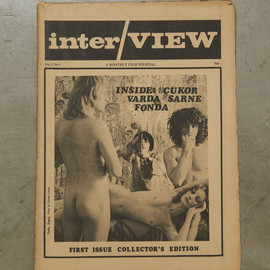 Andy Warhol, John Wilcock - interVIEW Magazine First Issue Collector's Edition