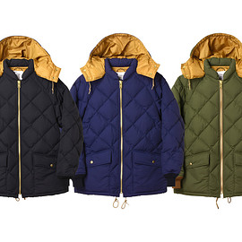 STANDARD CALIFORNIA - SD Classic Quilted Down Jacket