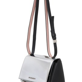 GIVENCHY - MINI PANDORA MIRRORED LEATHER BAG