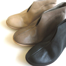 evam eva - vegetable tanned leather shoes