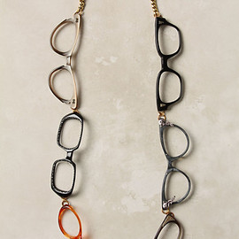 Anthropologie - Quite A Spectacle Necklace