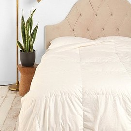 urban outfitters - Velvet Tufted Headboard- Wheat