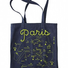MAPTOTE - Paris Denim Tote