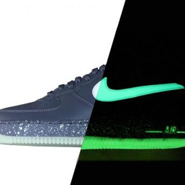 Nike - NIKE AIR FORCE 1 LOW DARK GREY/GLOW