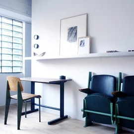 Jean Prouve - Table, Chair, Seats