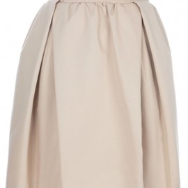 CARVEN - GARBERDINE SKIRT