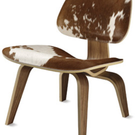 Herman Miller - Eames® Cowhide Molded Plywood Lounge Chair
