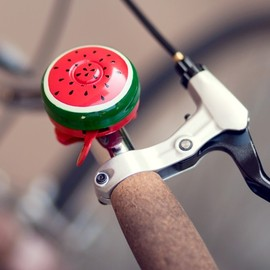 Poketo - Hand-painted bike bells - watermelon