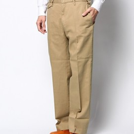 COSMIC WONDER Light Source - NON-PLEATED CHINO PANTS