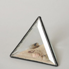 kim krans - Black & Gold Prism / Clear